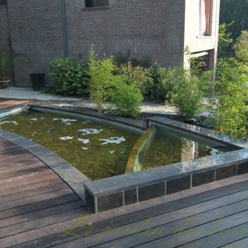 Le Jardin Dubois - Bassins d'agrément bâche et polyester